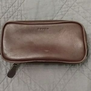 Coach Leather Makeup bag Vintage